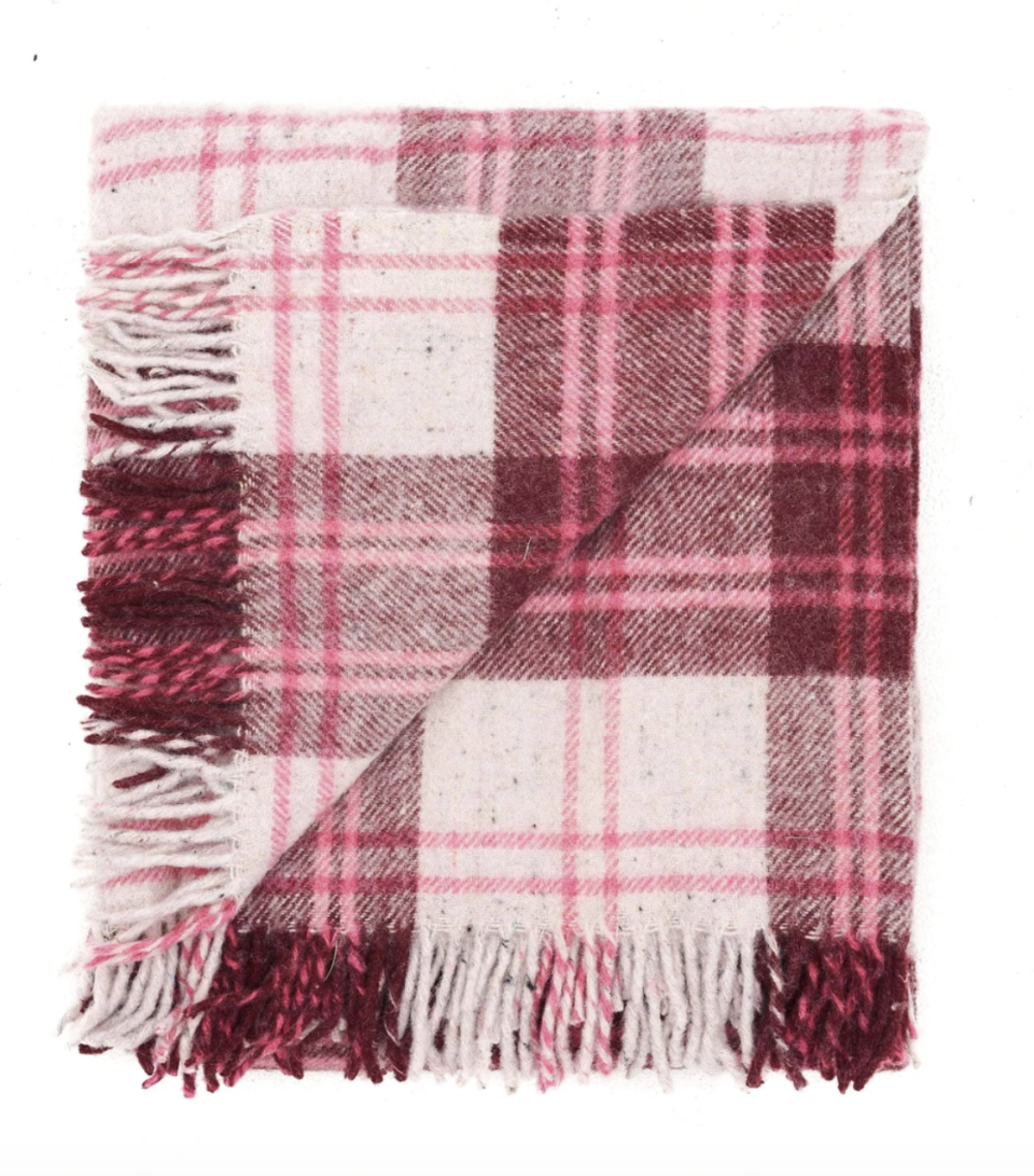 Waverley Mills recycled travel/picnic rug, $229. Photo: supplied.