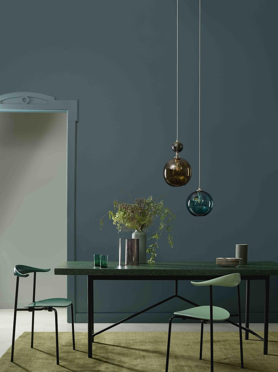 "<p class=""body-dropcap"">At ELLE Decoration, we understand the power colour has and how the right paint choice can transform your home. It's this knowledge that has informed the selection of the 60 colours that make up the <a href=""https://elledecoration.co.uk/decorating/a31130329/elle-decoration-collaborates-crown-paints-collection/"" rel=""nofollow noopener"" target=""_blank"" data-ylk=""slk:ELLE Decoration by Crown Paints collection"" class=""link rapid-noclick-resp"">ELLE Decoration by Crown Paints collection</a>.</p><p class=""body-text"">The carefully curated edit helpfully categorises the paints into six user-friendly colour groups, spanning paler neutrals to moody and intense hues (prices start from £35 for 2.5 litres) making it easier for you to find a colour to suit every decorating project. </p><p class=""body-text"">Here, we've selected a few of our favourites to inspire you to experiment with colour in every room. </p><p class=""body-text"">And if you're in need of further paint inspiration check out our 10 achievable and creative <a href=""https://www.elledecoration.co.uk/decorating/a32695292/10-easy-and-creative-ways-to-transform-your-home-with-paint/"" rel=""nofollow noopener"" target=""_blank"" data-ylk=""slk:paint ideas"" class=""link rapid-noclick-resp"">paint ideas</a> and explore more about the benefits of <a href=""https://elledecoration.co.uk/decorating/a32767488/all-your-questions-about-eco-friendly-paints-answered/"" rel=""nofollow noopener"" target=""_blank"" data-ylk=""slk:eco-friendly paints"" class=""link rapid-noclick-resp"">eco-friendly paints</a>.</p>"