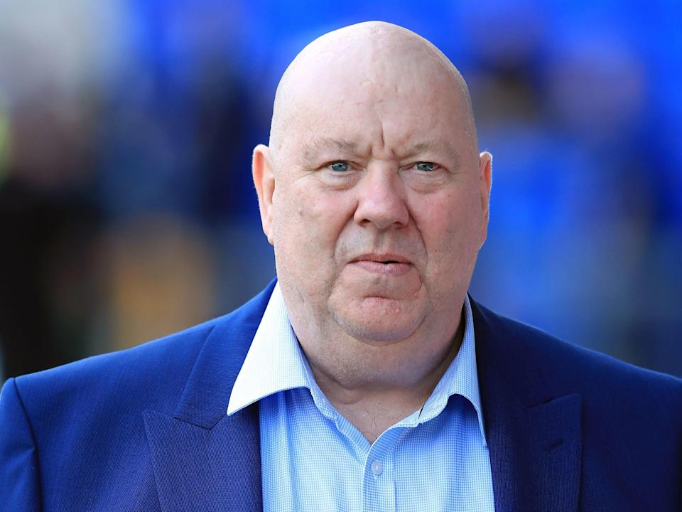 <p>Liverpool mayor Joe Anderson, who has reportedly been arrested as part of an investigation into building and development contracts in the city</p> (Peter Byrne/PA)