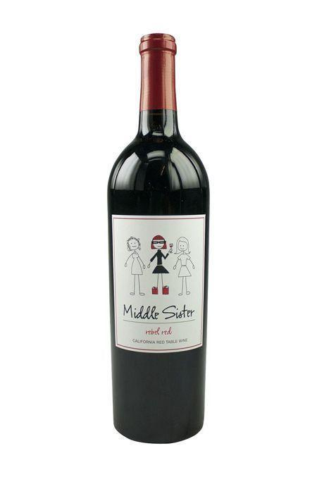 """<p><strong>Middle Sister</strong></p><p>wine.com</p><p><strong>$9.99</strong></p><p><a href=""""https://go.redirectingat.com?id=74968X1596630&url=http%3A%2F%2Fwww.wine.com%2Fv6%2FMiddle-Sister-Rebel-Red-Blend%2Fwine%2F107059%2FDetail.aspx&sref=https%3A%2F%2Fwww.goodhousekeeping.com%2Fholidays%2Fgift-ideas%2Fg23652891%2Fgifts-for-sister%2F"""" rel=""""nofollow noopener"""" target=""""_blank"""" data-ylk=""""slk:Shop Now"""" class=""""link rapid-noclick-resp"""">Shop Now</a></p><p>If your sister is a middle child and also loves a bold red wine, this is the perfect gift. </p>"""