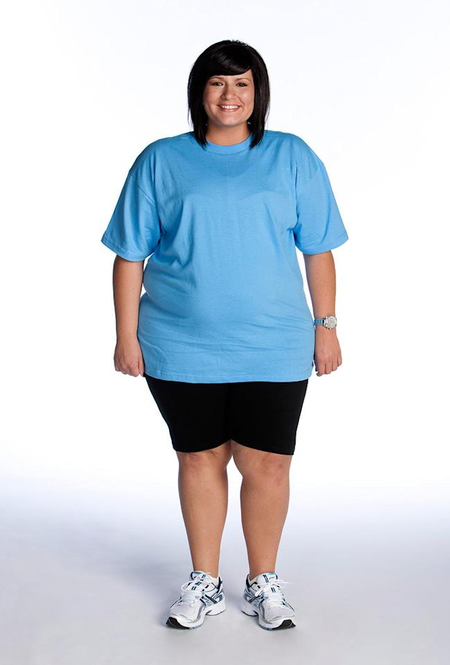 "Rebecca Meyer competes on the eighth season of <a href=""/biggest-loser/show/37103"">""The Biggest Loser.""</a>"