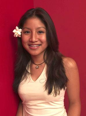 "Jasmine Trias is one of the contestants on Season 3 of ""American Idol."""