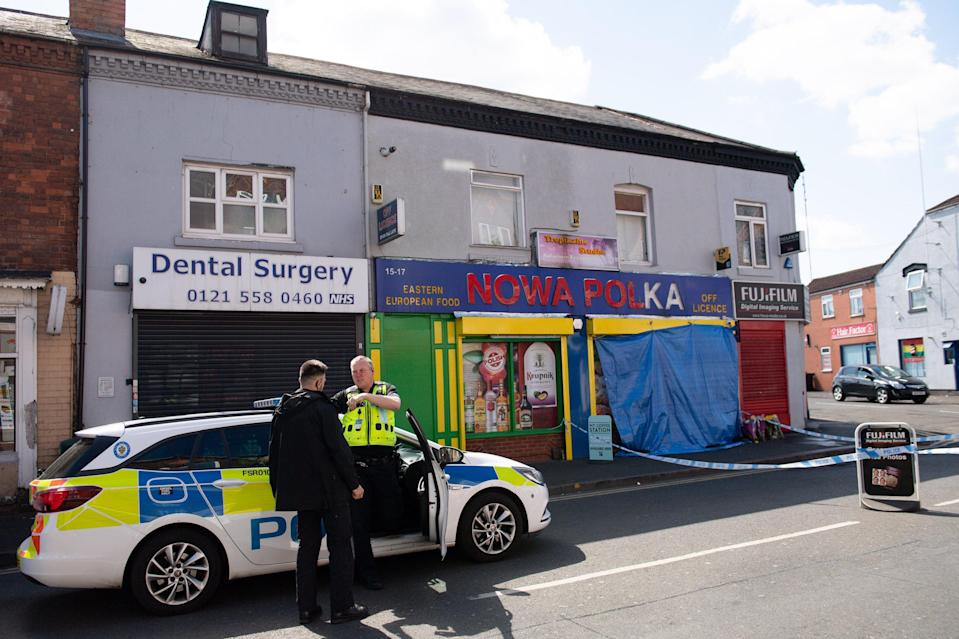 West Midlands Police said the 17-year-old victim was found with knife wounds at around 4.20pm on Saturday.PA