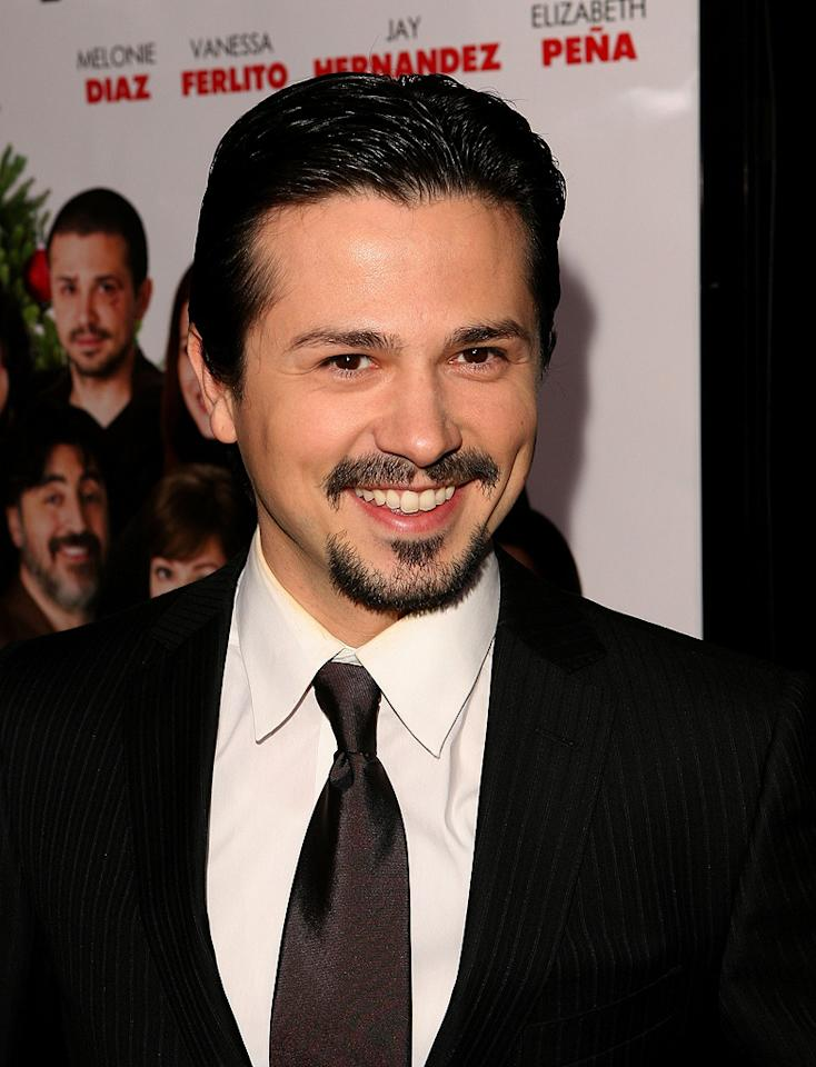 """<a href=""""http://movies.yahoo.com/movie/contributor/1800247629"""">Freddy Rodriguez</a> at the Los Angeles premiere of <a href=""""http://movies.yahoo.com/movie/1809991685/info"""">Nothing Like the Holidays</a> - 12/03/2008"""