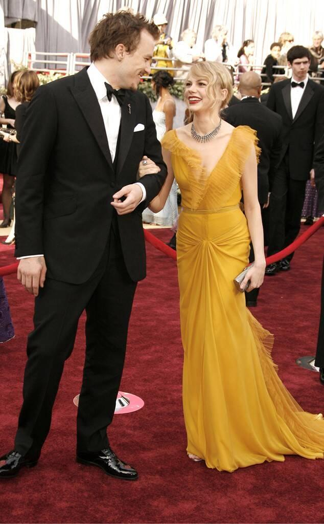 Heath Ledger, Michelle Williams, Oscars Chic, Oscars Couples