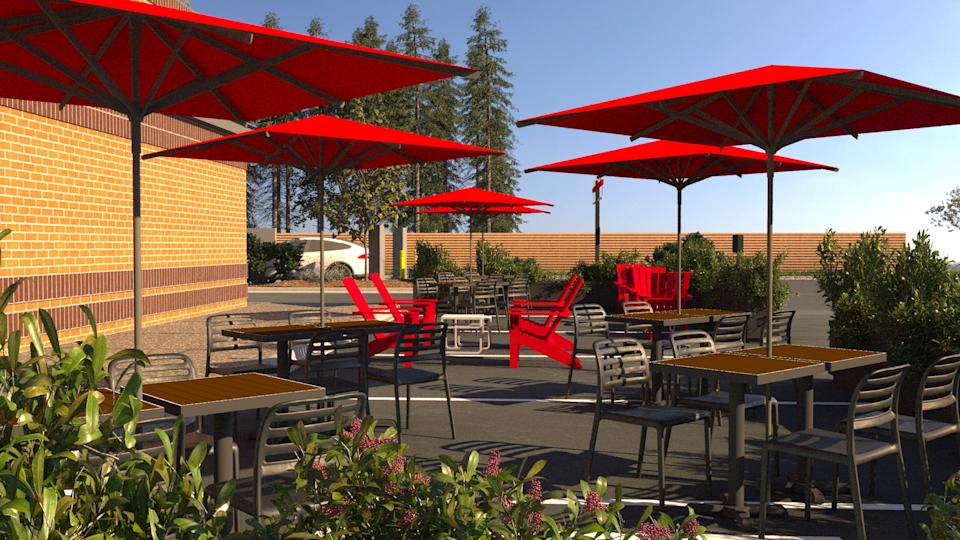 Tim Hortons will open 1,000 patios at restaurants across the country by early July.