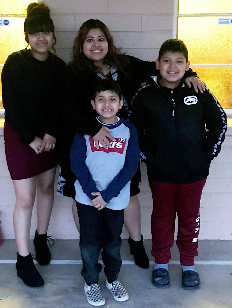 Lillian Rodriguez struggles to support her three children on the $12.30 an hour she earns working at a McDonald's restaurant in Phoenix.
