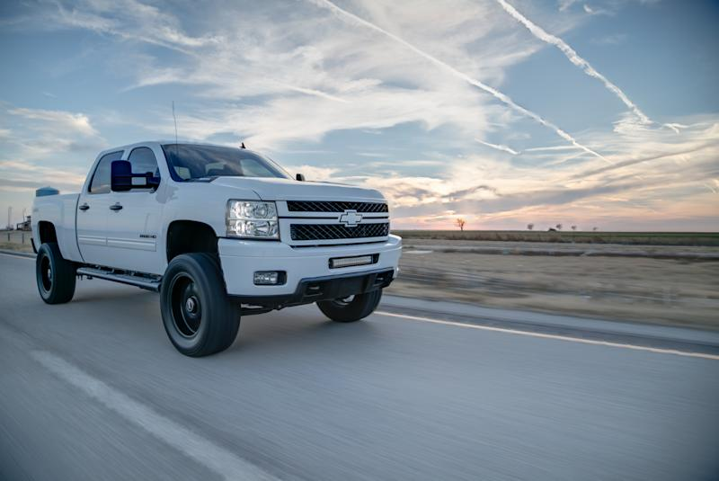 Chevy Silverado 2500HD Rolling Shot