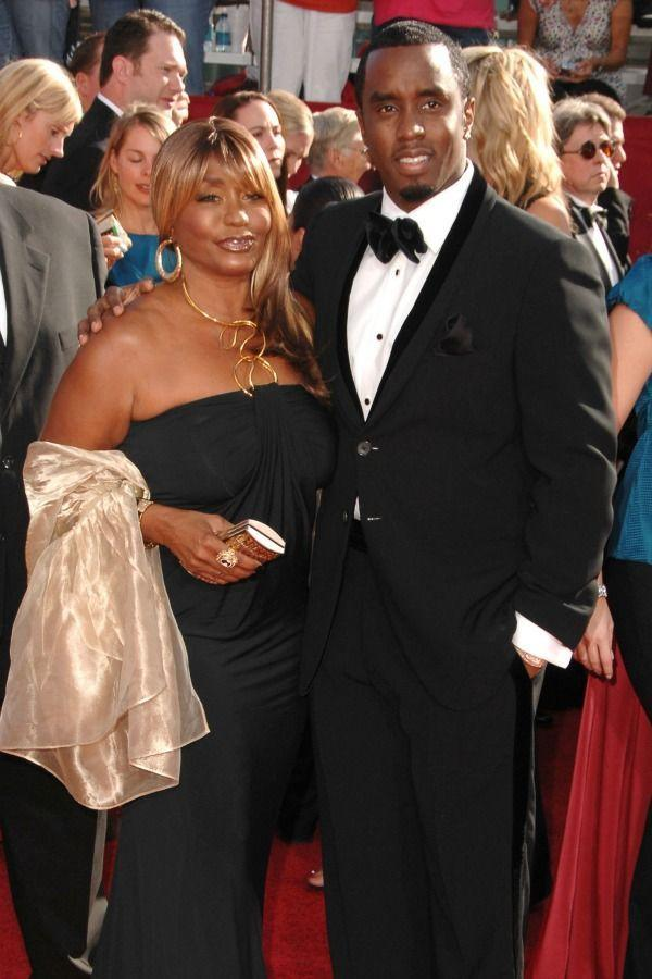 <p>Before P. Diddy became a rap legend, he was momma's little boy. Sean and Janice Combs posed on the red carpet at the 2008 Emmy Awards.</p>