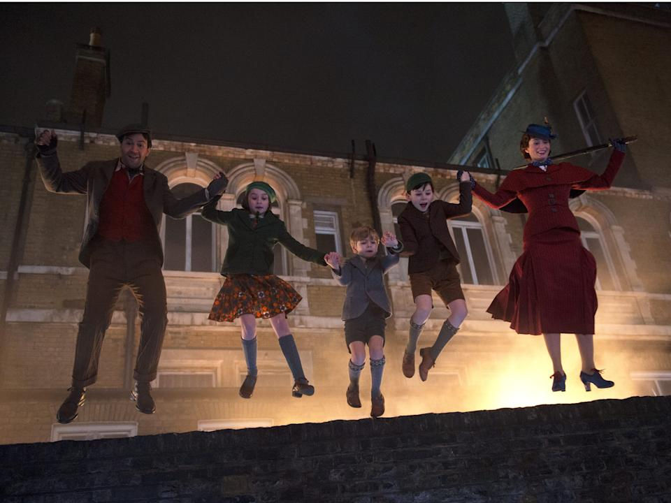 "Emily Blunt plays the titular nanny in ""Mary Poppins Returns."""