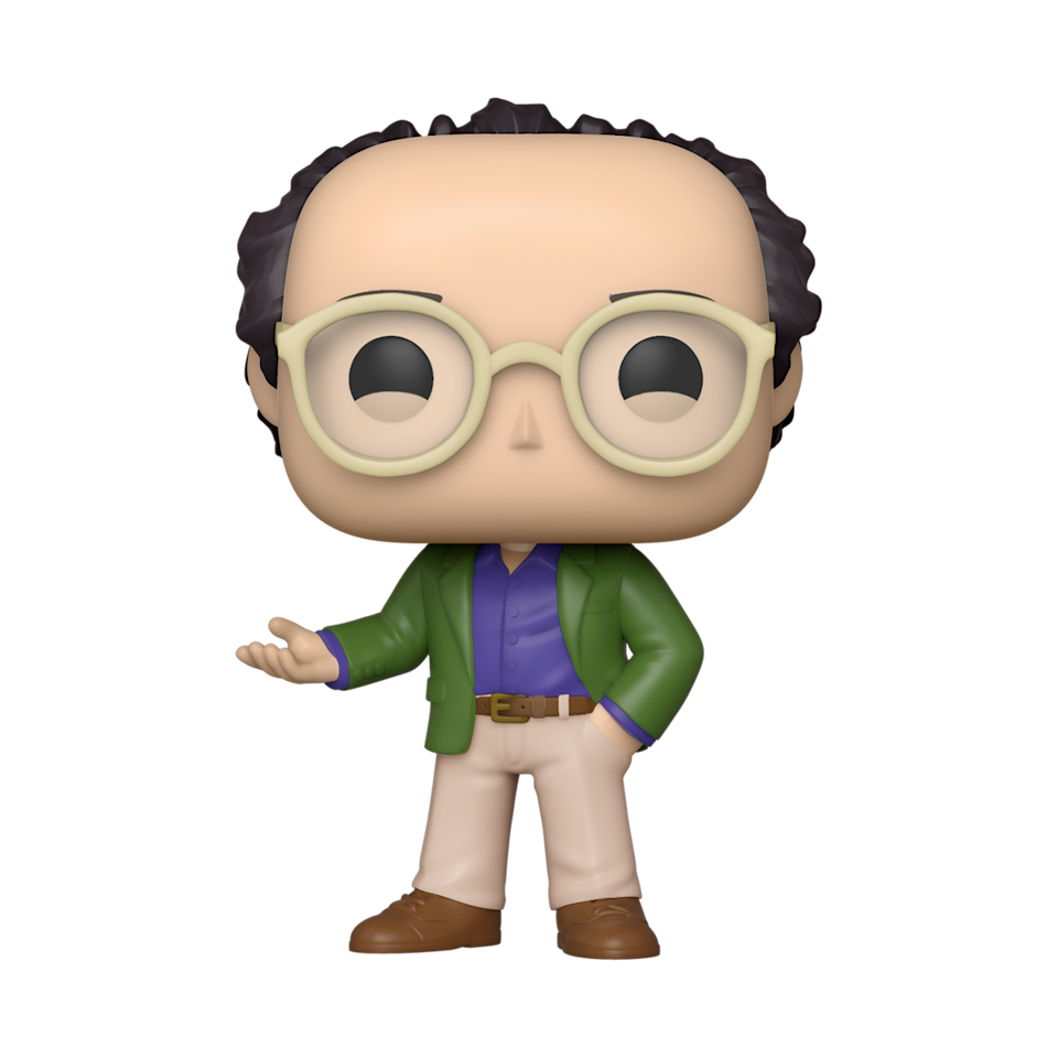 Even first-time 'Seinfeld' viewers at Funko learned to love George while working on his Pop! (Photo: Funko)