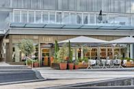 <p>Sat on the bank of the River Thames (and therefore boasting exceptional views) at the recently refurbished Battersea Power Station is Mediterranean restaurant Fiume. </p>