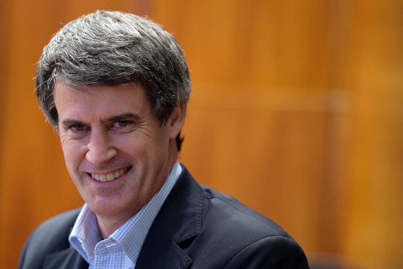 Argentinian Finance Minister Alfonso Prat-Gay, pictured on January 14, 2016, said a preliminary deal was struck to settle their claims on about $900 million worth of bonds, by face value
