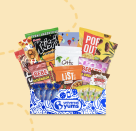 """<p>Full of wanderlust? Universal Yums can help with that by sending you different international snacks every month. You can choose the size of your loot to be five-to-seven snacks, 10-to-12 snacks, or 18-to-20 snacks.</p><p><a class=""""link rapid-noclick-resp"""" href=""""https://go.redirectingat.com?id=74968X1596630&url=https%3A%2F%2Fwww.universalyums.com%2Fjoin&sref=https%3A%2F%2Fwww.delish.com%2Fkitchen-tools%2Fg36689067%2Fbest-snack-subscription-boxes%2F"""" rel=""""nofollow noopener"""" target=""""_blank"""" data-ylk=""""slk:SUBSCRIBE"""">SUBSCRIBE</a></p>"""