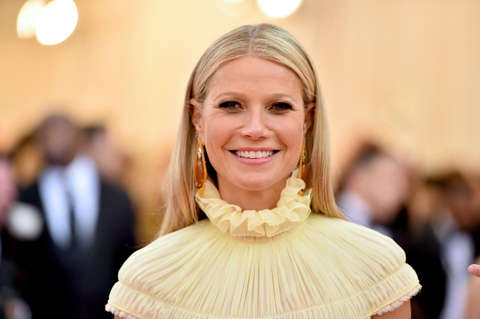 Gwyneth Paltrow pictured in 2019 at the Met Gala. She has opened up about her experiences of perimenopause (Getty Images)
