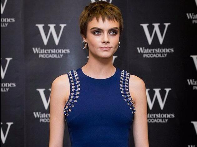 Actress and model Cara Delevingne has also just spoken out. Source: Getty