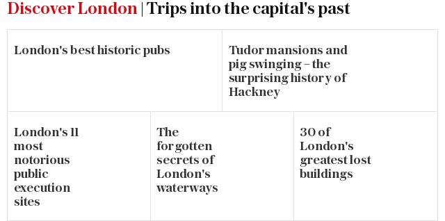 Lost London: more trips to the capital's past
