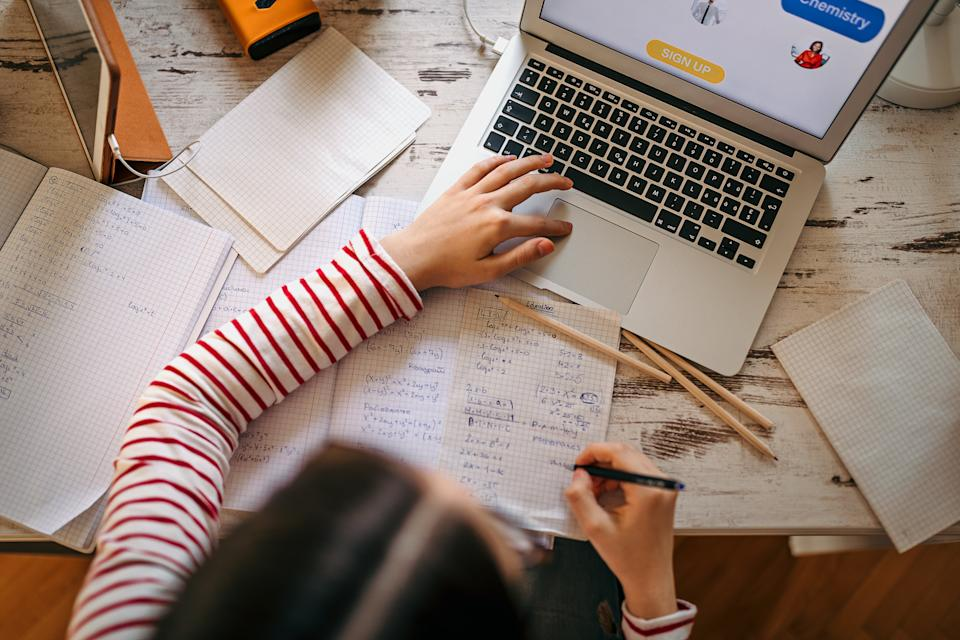 <p>All students - except vulnerable and key worker children - have been told to do school at work until at least mid-February in England</p> (Getty Images)