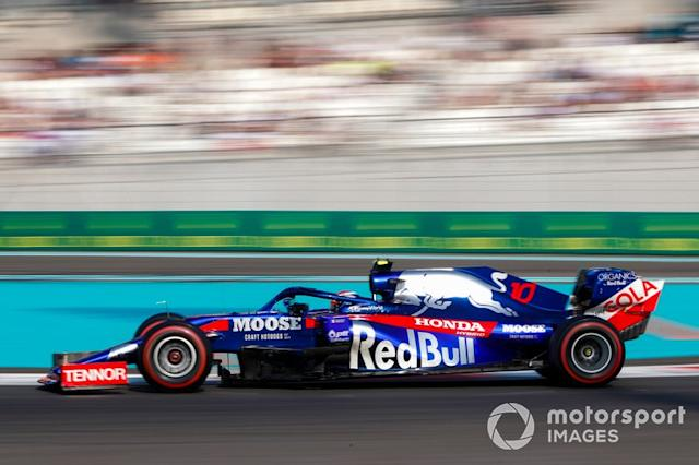 """Pierre Gasly, Toro Rosso STR14 <span class=""""copyright"""">Zak Mauger / Motorsport Images</span>"""