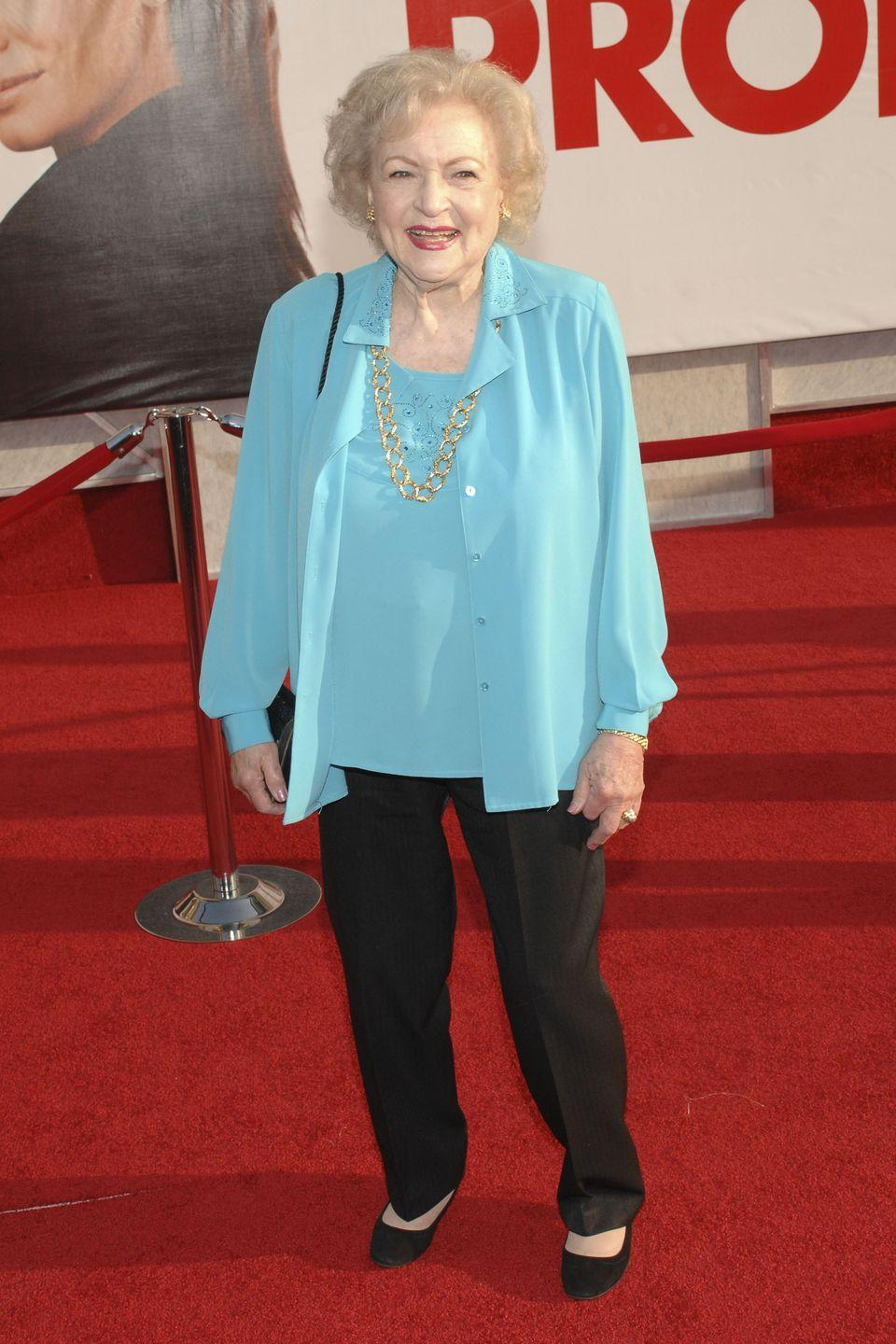 <p>Betty mostly made a name for herself in television throughout her career. However, in the late 2000s, she began appearing in film more frequently. From <em>The Proposal</em> to <em>You Again</em>, it wasn't long before a whole new generation became Betty White fans.</p>