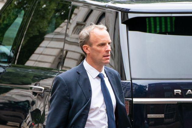 Foreign secratary Dominic Raab faces mounting pressure over his handling of the UK's response to Afghanistan. (Photo: Dominic LipinskiPA)
