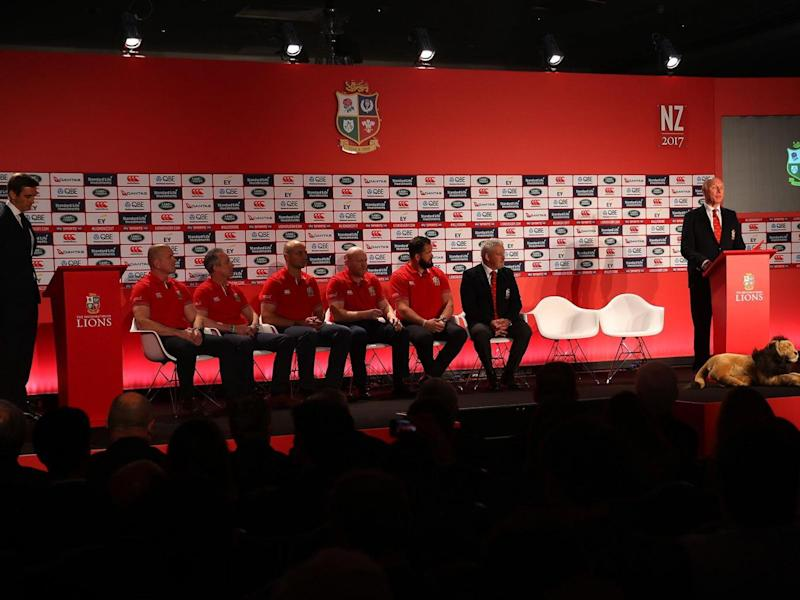 Gatland announced his squad on Wednesday (Getty)