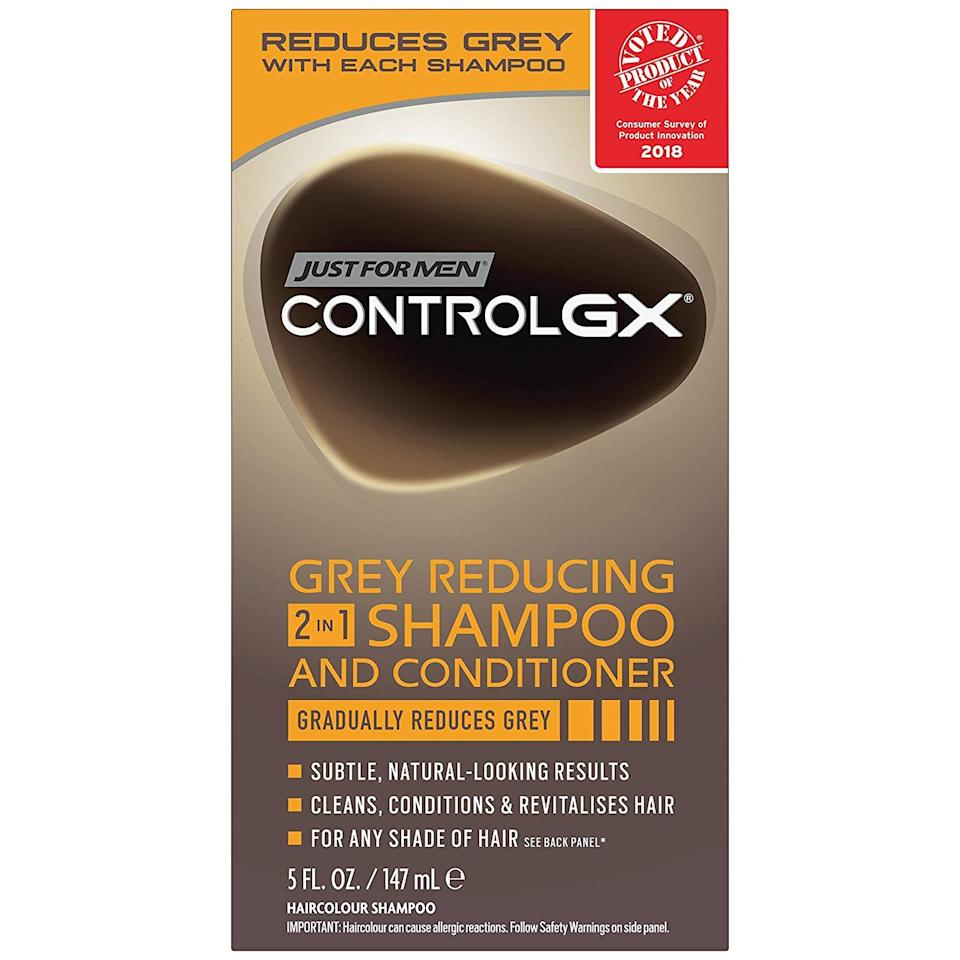 Just for Men Control GX Grey-Reducing Shampoo and Conditioner