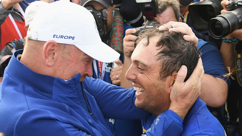 Europe dominates U.S.  to regain Ryder Cup
