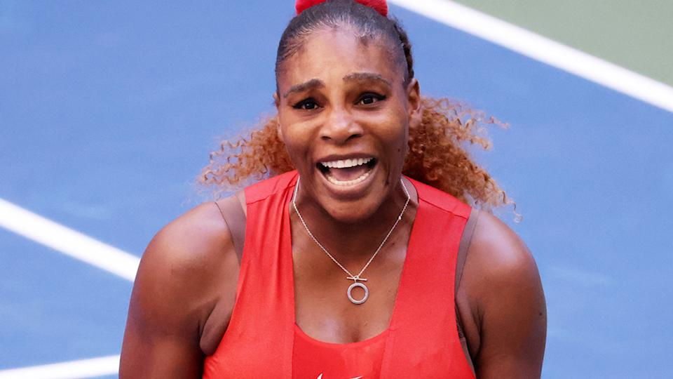 Serena Williams, pictured here in action at the US Open.