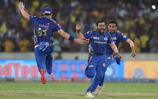 Mumbai Indians, captained by Rohit Sharma, won the 2019 IPL - AP
