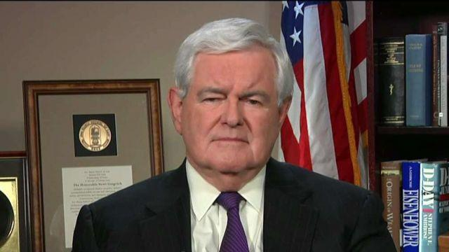 Former House Speaker Newt Gingrich on FBI Director James Comey's testimony on Capitol Hill regarding Russia's possible involvement in the U.S. election.