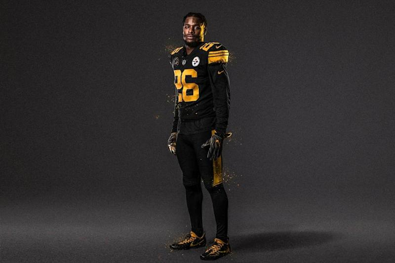 908f402b948 See the Steelers' and Titans' Color Rush Uniforms for Thursday Night  Football