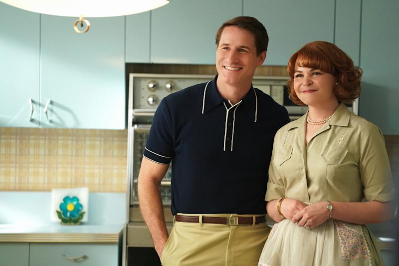 Sam Jaeger and Ginnifer Goodwin in 'Why Women Kill' (Photo: Ali Goldstein/CBS Interactive, Inc.)