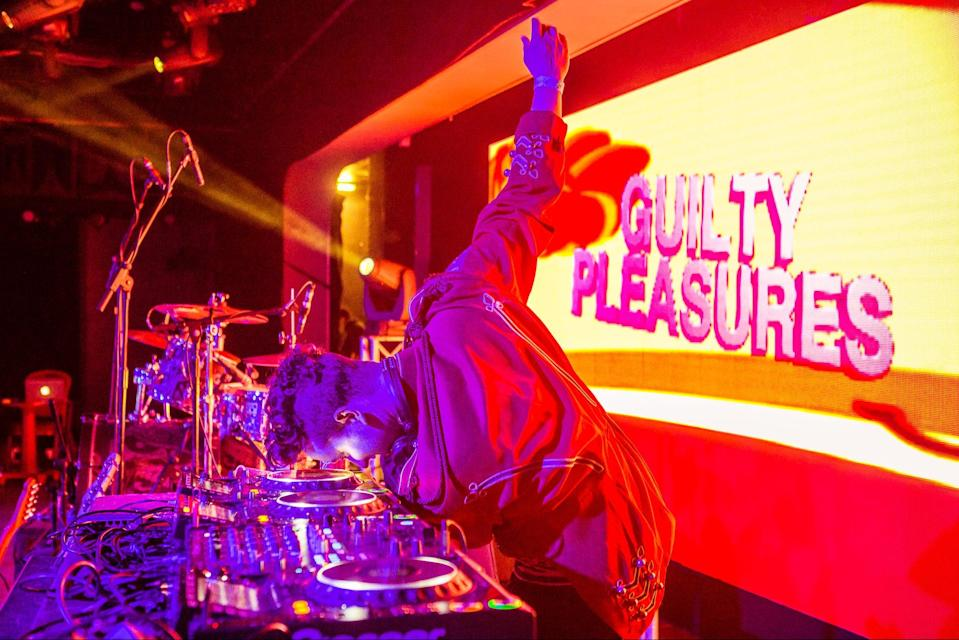 <p>Party on: Guilty Pleasures will be among the acts playing at the venue throughout the summer</p> (Luke Dyson)