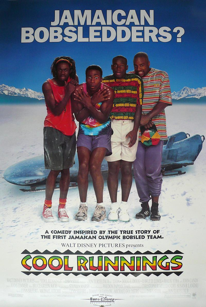 A poster for Disney's Cool Runnings. (Disney)