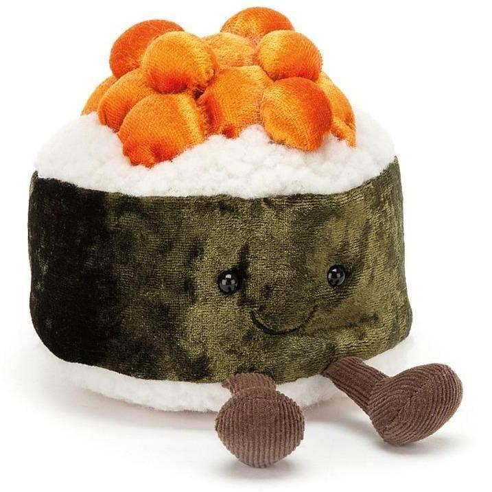 <p>Look at how soft this <span>Jellycat Silly Sushi Maki Toy</span> ($15) looks.</p>