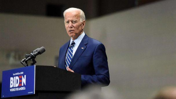 PHOTO: Democratic presidential candidate and former vice president Joe Biden speaks at a campaign event in Sumter, S.C, July 6, 2019. (Meg Kinnard/AP)