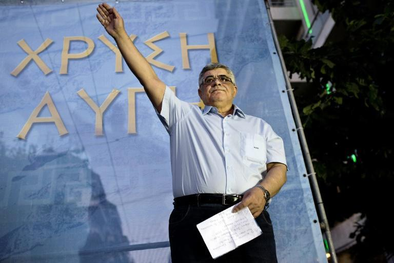 Golden Dawn leader Nikos Michaloliakos was defiant after the ruling