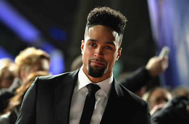 LONDON, ENGLAND - JANUARY 25: Ashley Banjo attends the National Television Awards on January 25, 2017 in London, United Kingdom. (Photo by Jeff Spicer/Getty Images)