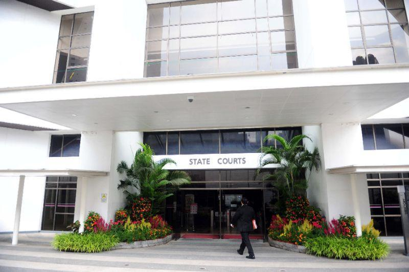 Singapore State Courts (AFP Photo/Mohd Fyrol)