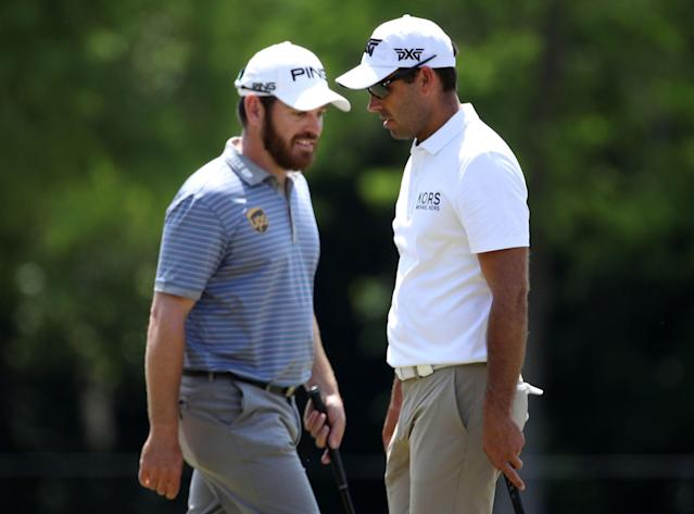 Charl Schwartzel made the most of a late invite to play with Louis Oosthuizen at the Zurich Classic when Brendan Grace's wife went into labor