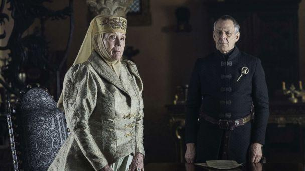 PHOTO: Diana Rigg as Olenna Tyrell in the 'Game of Thrones.' (Helen Sloan/HBO)