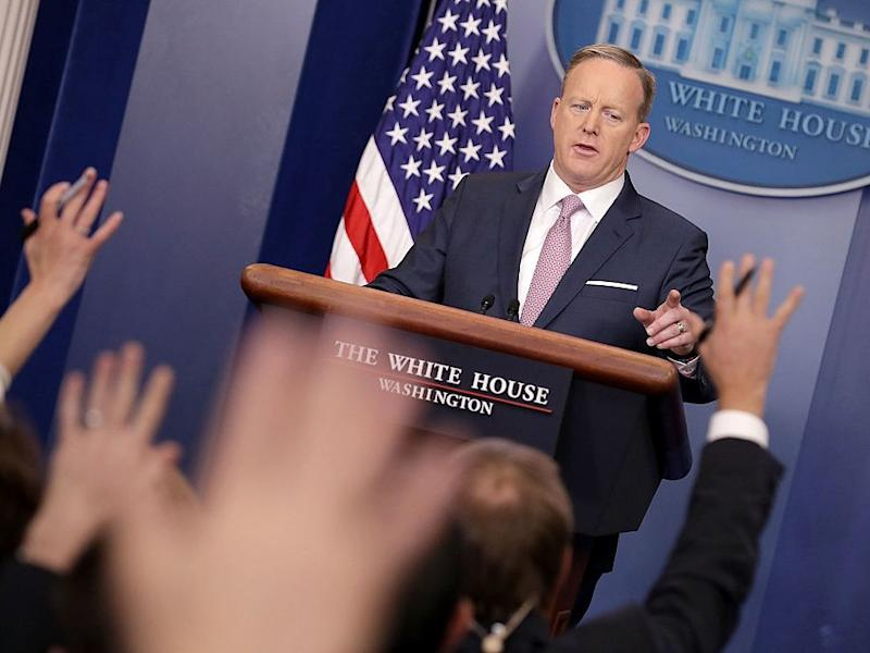 GettyImages 632497310 Sean Spicer