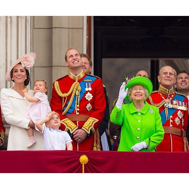"<p>Will and Kate posted a simple birthday greeting for the Queen along with a picture from Trooping the Colour a few years ago.</p><p><a href=""https://www.instagram.com/p/Bwgm93uF4w6/"">See the original post on Instagram</a></p>"