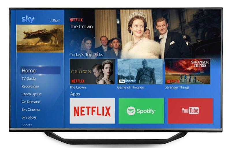 Netflix integration comes to Sky Q
