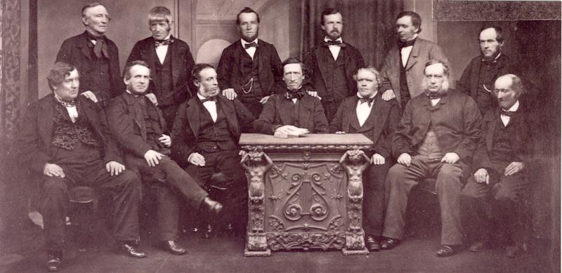 13 Co-op pioneers in 1865