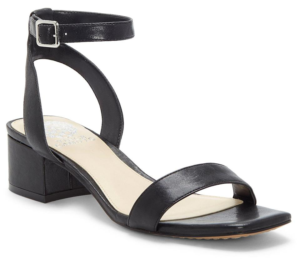 Vince Camuto Leather Heeled Sandals (Photo: QVC)