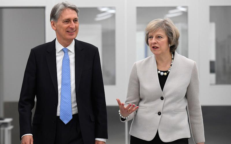 Philip Hammond and Theresa May -  Toby Melville/PA Wire