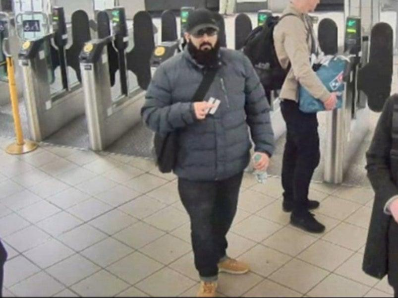 """Usman Khan told a counter-terrorism boss he was wearing a bulky coat, which concealed a fake suicide belt, because it was a """"cold day"""" shortly before the Fishmongers' Hall attack (Metropolitan Police/PA)"""