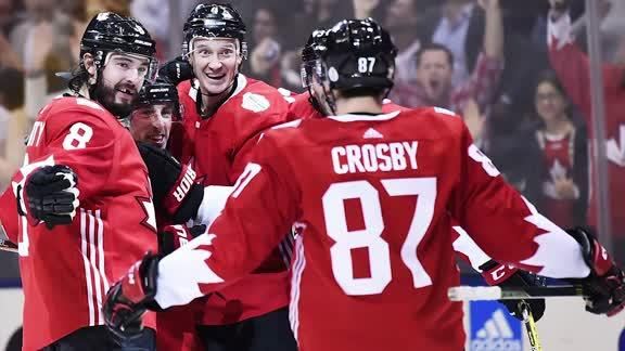 Team Canada's 5-3 win over Russia in the World Cup of Hockey semifinal Saturday averaged more than 3 million viewers.